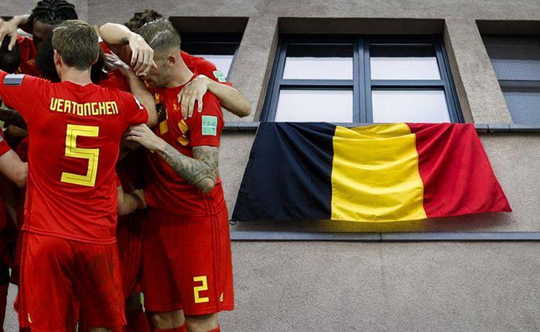 Opgelet: die Belgische vlag -uit uw raam kan u duur komen te staan.