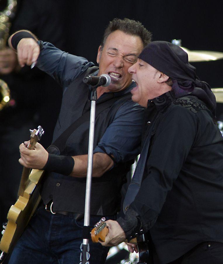 Bruce Springsteen met Little Steven. Beeld ANP/Kippa