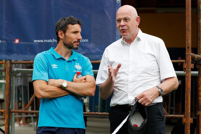 Mark van Bommel en Toon Gerbrands.