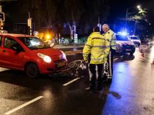 Botsing tussen auto en fietser op Krispijnseweg