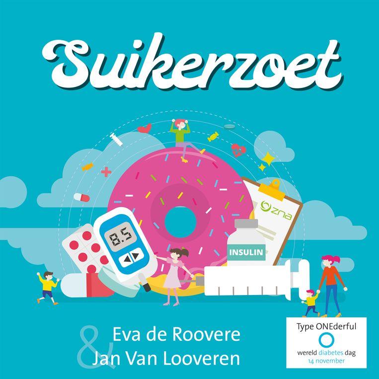 Jan en Eva zingen het lied 'Suikerzoet'.