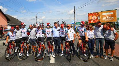 Aangrijpend eerbetoon in Ronde van Polen
