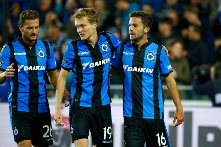 Rits, Vlietinck en Schrijvers zaterdag aan het feest tegen Cercle.