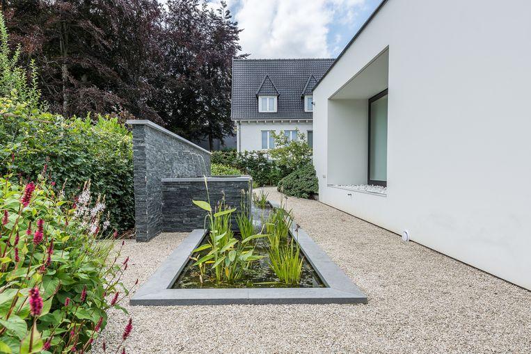 Tuinarchitectuur Adam met een project in Overijse.