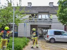 Drie woningen ontruimd door brand in Wijchen