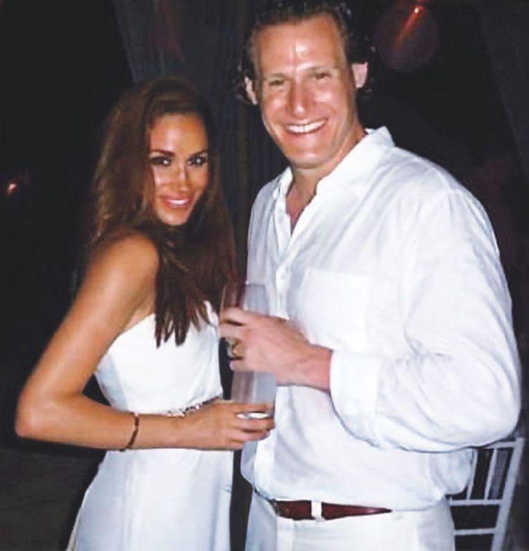 Markle met Trevor Engelson, de man met wie ze in 2011 huwde.