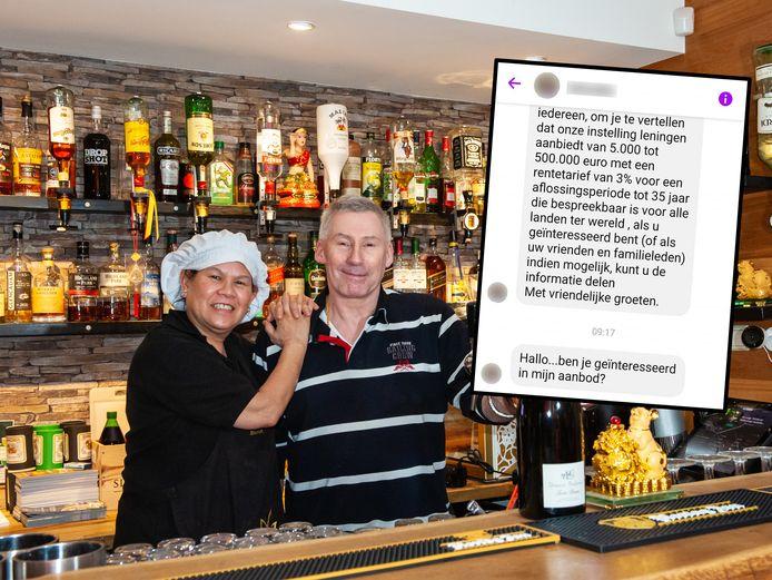 Herman Schoemaker (62) en zijn vrouw Aree (61) van het Thaise restaurant Bangkok City.