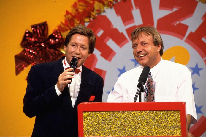 Tom Mulder (rechts) naast Hans Kazan.