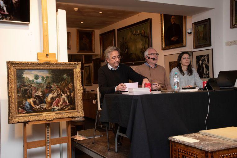Veiling meesterwerk Hendrik Van Balen in Maison Jules in Gent.