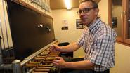 Slimme computerchip aan klavier beiaard