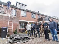 Slachtoffers weggewaaid dak: We hebben geluk gehad