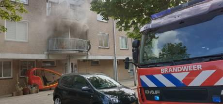 Brand in slaapkamer aan Graaf Janlaan