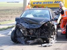 Auto's botsen in Sas van Gent: 2 gewonden