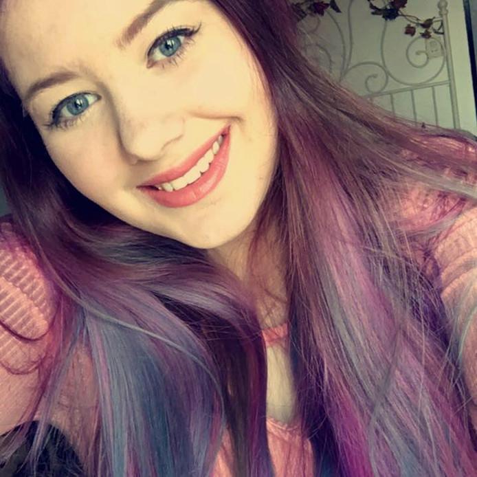 Tessa Schror (17) uit Westervoort.