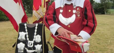 William van de Voort koning van Gilde Sint Lambertus Someren-Eind