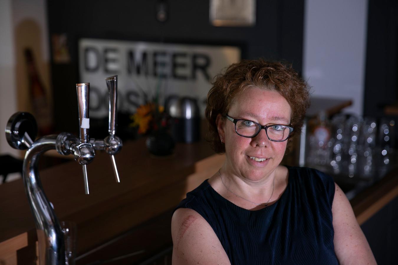 Sandra Hakkens werkt al lang in de Duizelse horeca en is nu uitbaatster van de voetbalkantine van Dosko'32.