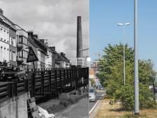 Vroeger en nu: de échte fly-over aan de Dampoort