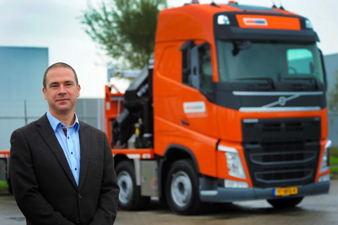 Mede-eigenaar Ronald Wielemaker, van het gelijknamige transport- en containerbedrijf.