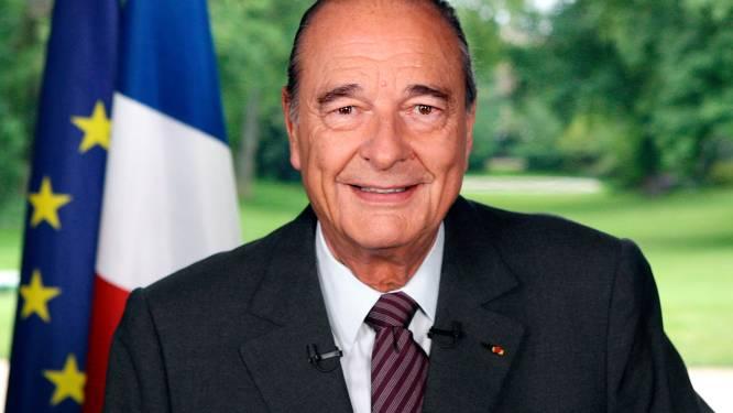 """Franse oud-president Jacques Chirac (86) overleden: """"Drukte zijn stempel op Europese geschiedenis"""""""