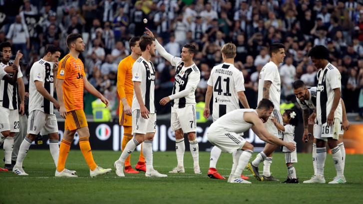 Juventus buigt achterstand om en is kampioen van Italië