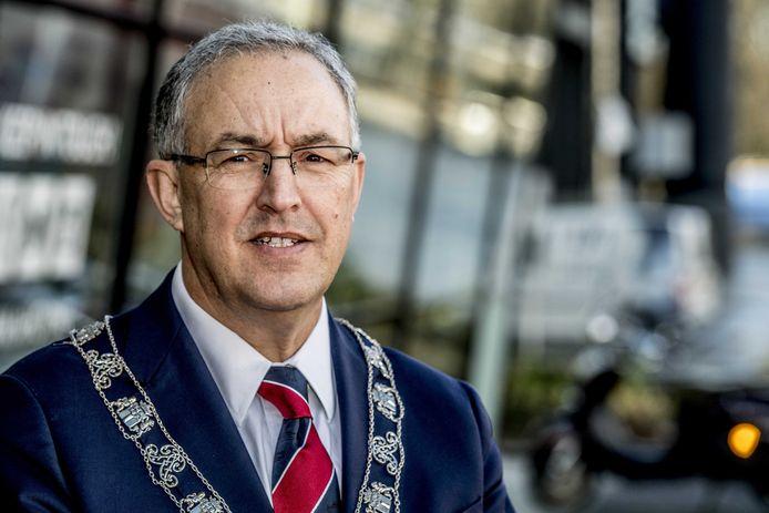 Burgemeester van Rotterdam Ahmed Aboutaleb.