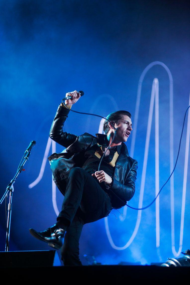Arctic Monkeys Beeld Alex Vanhee