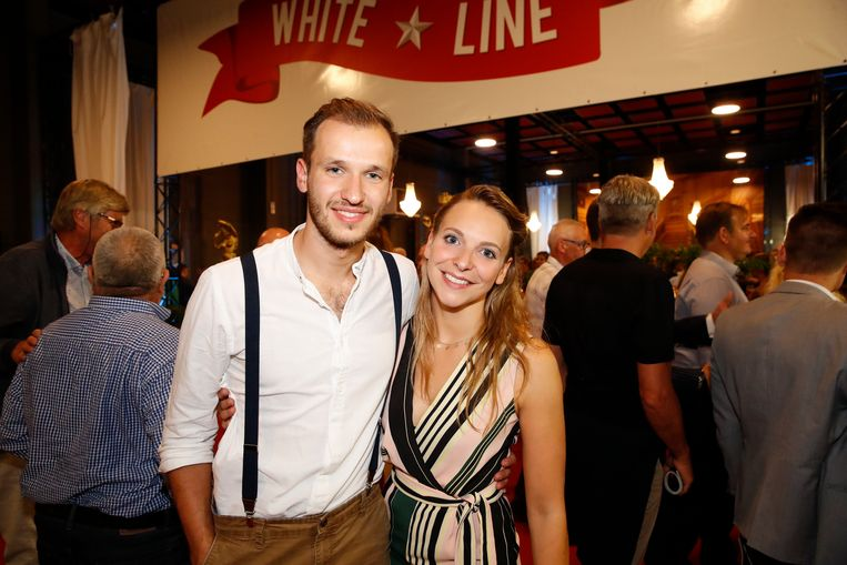 Line Ellegiers en Michiel De Meyer - in het echte leven een koppel - spelen mee in de musical.