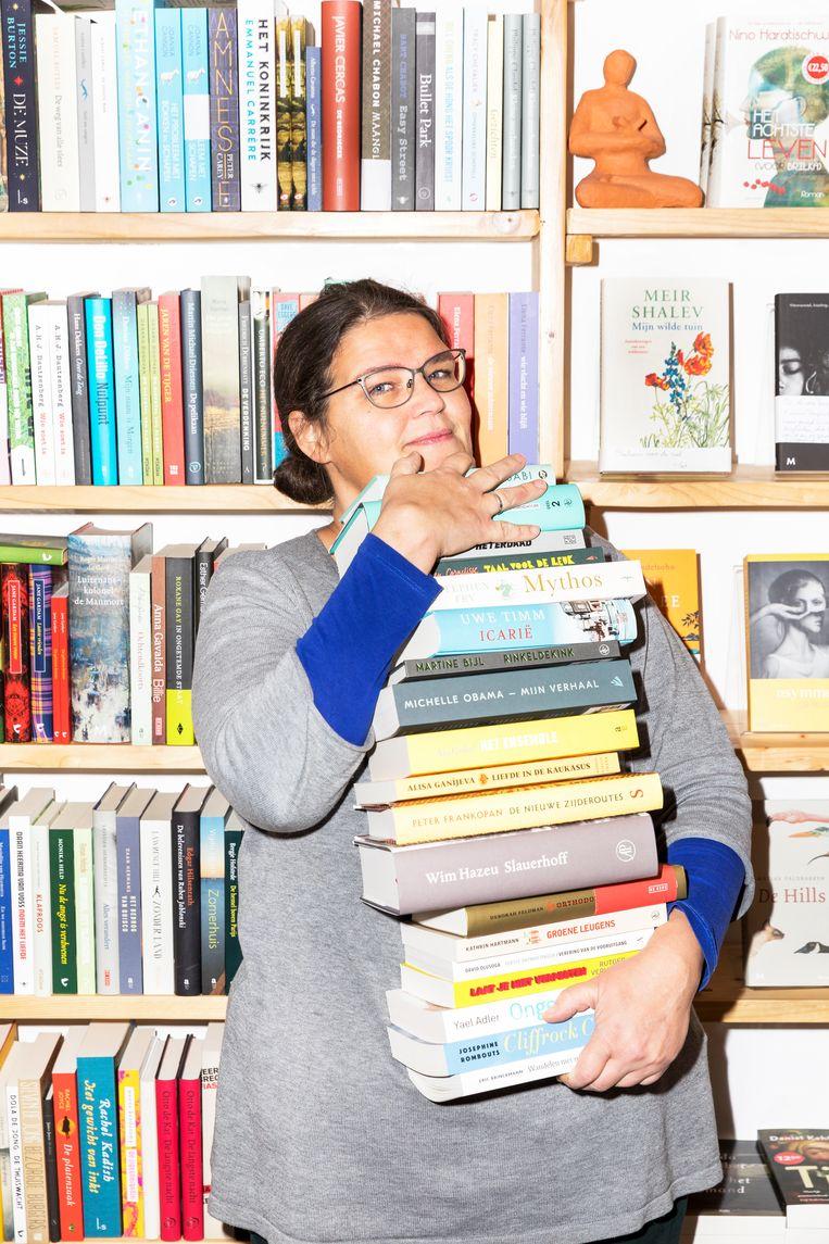 Lot Douze van boekhandel Over het Water, Amsterdam. Beeld Marie Wanders