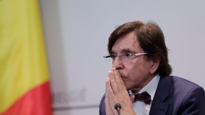 """Elio Di Rupo: """"Scholen in mei mogelijk weer open"""""""