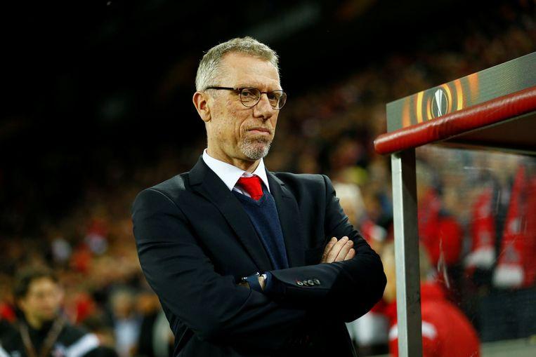 Peter Stöger is ontslagen als coach van FC Köln