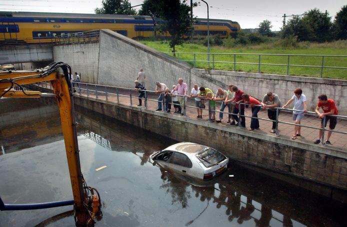 De Generaal Maczektunnel loopt met enige regelmaat nog vol met water. Dat probleem moet straks zijn opgelost.