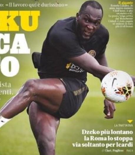 """Mis au régime par l'Inter, Romelu Lukaku """"casse tout"""" à l'entraînement"""