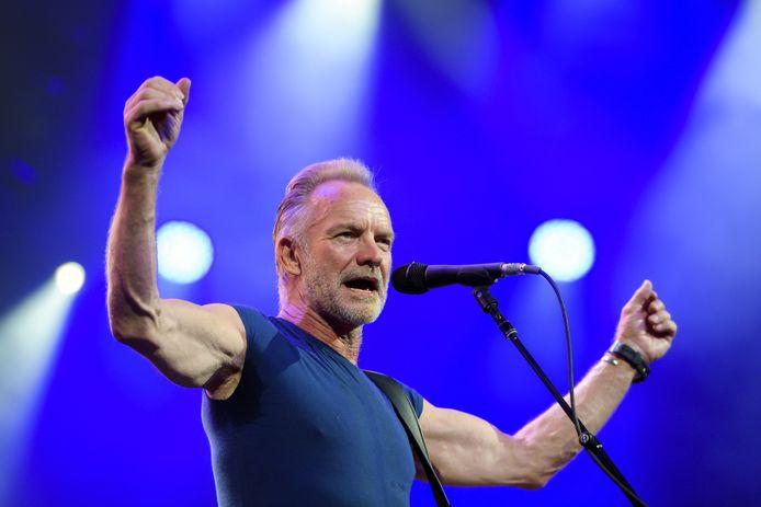 Sting heeft enkele extra concerten moeten afzeggen