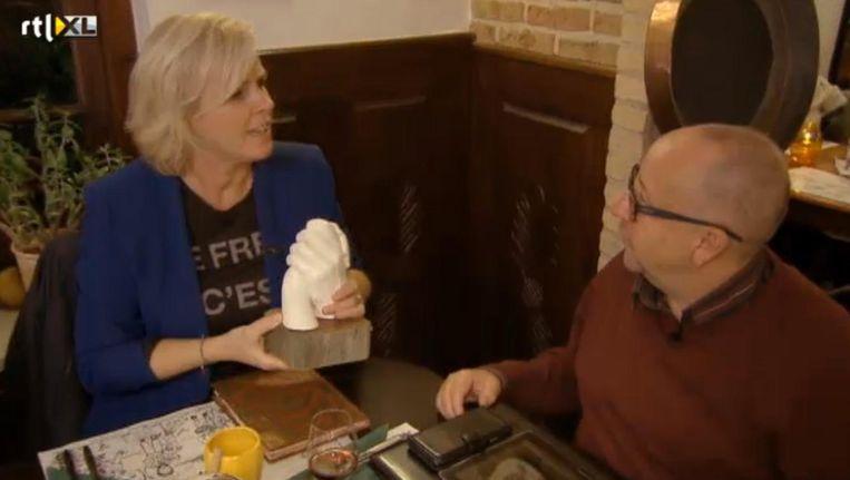 Irene Moors in Geef Mij Nu Je Angst. Beeld RTL XL