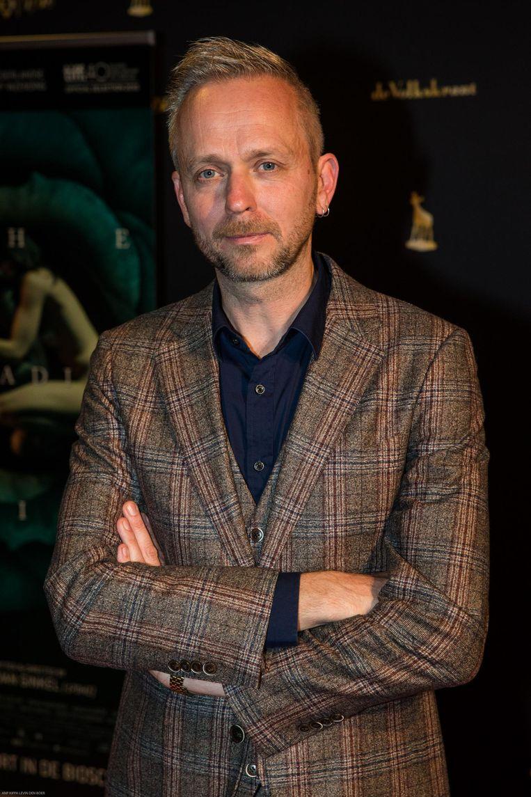 Joost van Ginkel op de rode loper van de première The Paradise Suite tijdens het Nederlands Film Festival Beeld anp