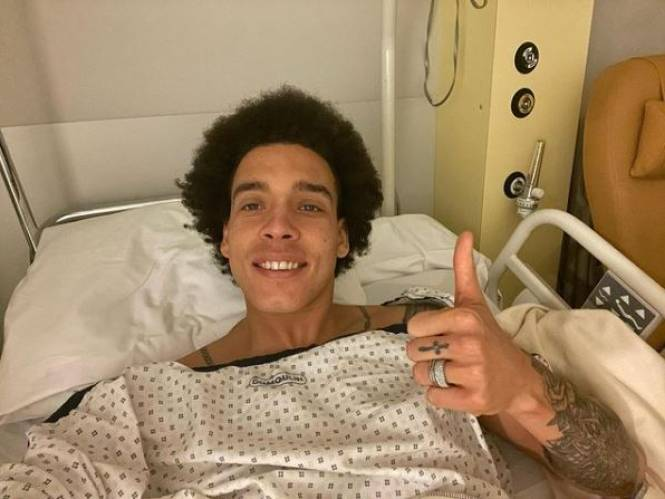 "Jarige Axel Witsel met succes geopereerd: ""Pees nog in goede staat"""