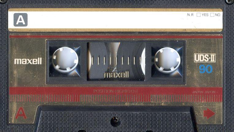 Sommige artiesten brengen hun muziek op cassette uit. Beeld -