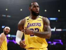 LeBron James opposé à l'idée d'annuler la saison de NBA