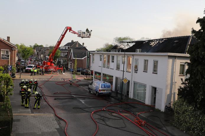 Zeer grote brand in Waalwijk