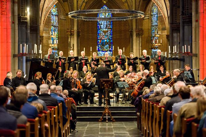 EINDHOVEN - Uitvoering Nicolaasconcert in de Catharinakerk