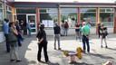 Aftrap wijkbezoek de Wisselaar in Hoge Vucht in Breda.