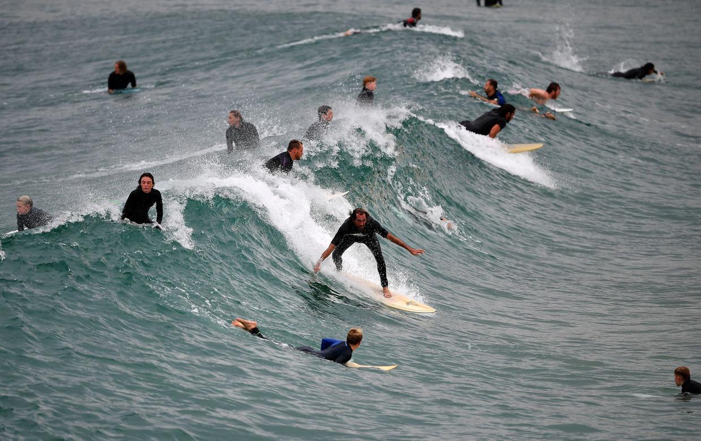 In Sydney zijn drie stranden opnieuw geopend.