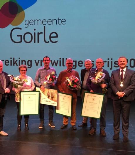 Vrijwilligersprijzen Goirle uitgereikt in Jan van Besouw
