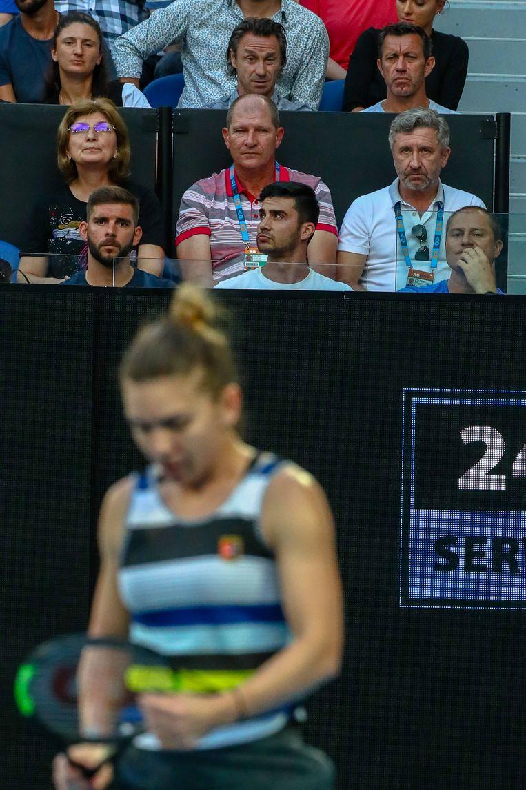 Tijdens de Australian Open werd Van Cleemput al met Halep opgemerkt.