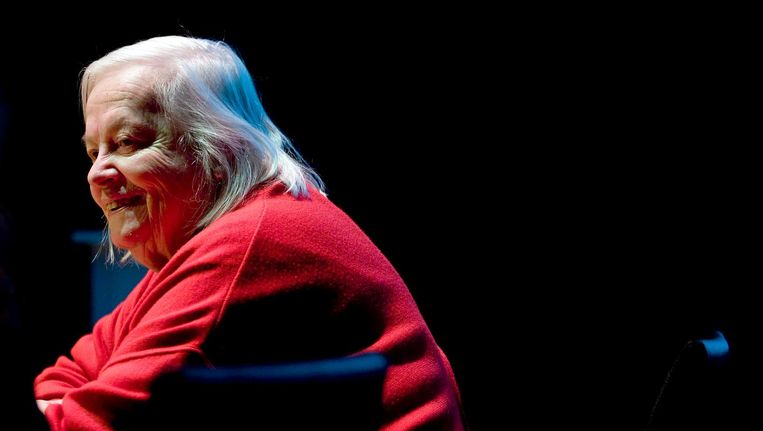 Hella Haasse in 2008 Beeld anp