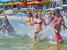 Zon zorgt voor 'verantwoorde drukte' in Brabantse zwemplassen