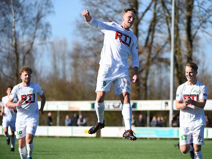 Jens Schutten scoorde voor RKZVC.
