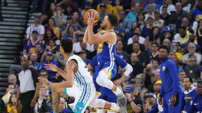 VIDEO. Golden State vernedert Charlotte in NBA - Atlanta klopt leider met buzzer beater
