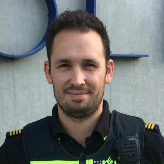 Wijkagent Mark den Hartog.