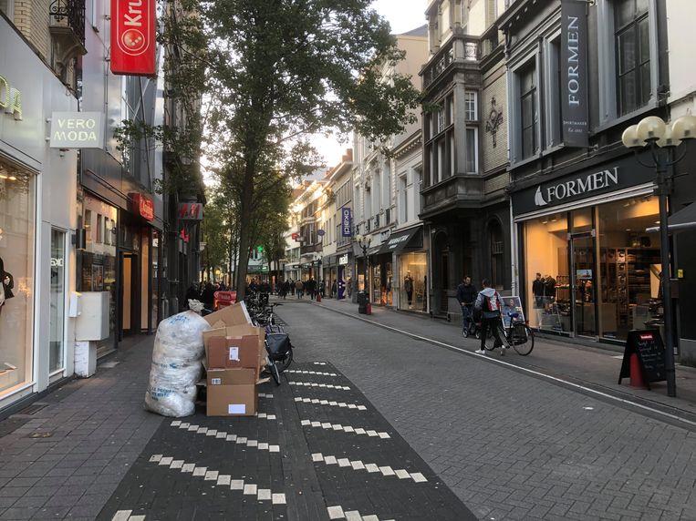 Ook de Gasthuisstraat in Turnhout zal heraangelegd worden.